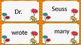Dr. Seuss sentence scramble