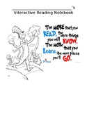 Dr. Seuss theme Interactive Notebook Cover