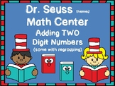 Dr. Seuss themed Adding Two Digit Numbers