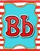 Dr. Seuss themed Alphabet line