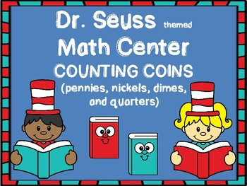 Dr. Seuss themed Counting Coins