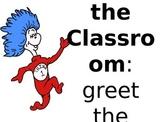Dr. Seuss themed classroom procedures