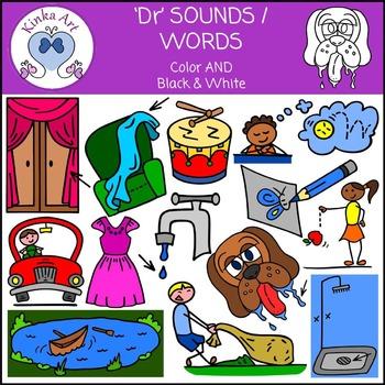 Dr Sounds / Words: Beginning Sounds Clip Art