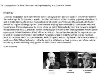 Dr. Strangelove Video Guide: background, synopsis & great questions (w/ answers)