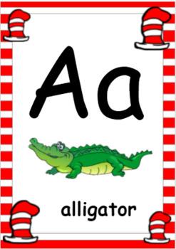 Dr. Suess Alphabet