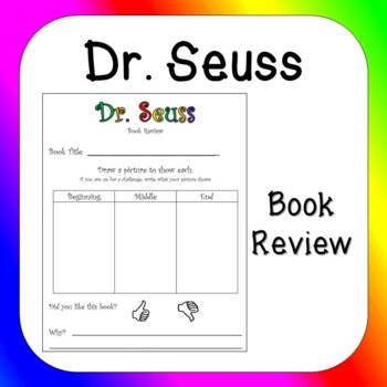 Dr. Suess Book Review
