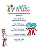 Dr Suess Dress Up Week Read Across America