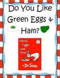 Dr. Suess Green Eggs and Ham Graphing