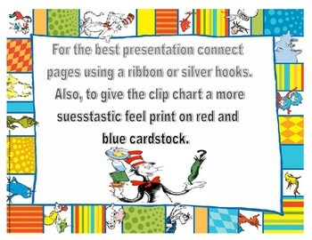 Dr Suess How do we get home chart