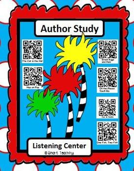 Instant Listening Center - Author Study -  QR codes - Centers