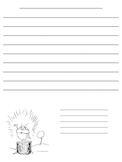 Dr. Suess - Lorax - Writing Paper