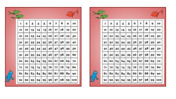 Dr Suess Name Tags and hundreds chart
