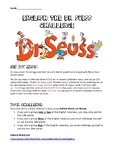 Dr Suess Oxford Word Challenge