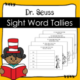 Dr. Suess Sight Word Tallies