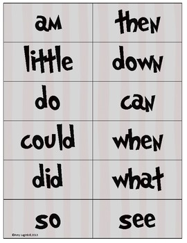 Dr. Suess Sight Words