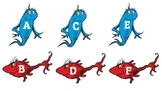 Dr. Suess Theme Letter and Number Labels