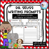 Dr. Seuss Themed Writing Prompts