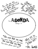 Dr. Suess Themed Student Agenda/Planner 2014-2015