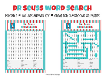photo relating to Dr Seuss Word Search Printable identify Dr. Seuss Term Look