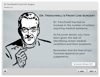 Dr Trenchwell's Front Line Surgery