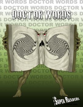 Dr. Words: Super Readers Villain-  Anchor Chart (Reading Interest)