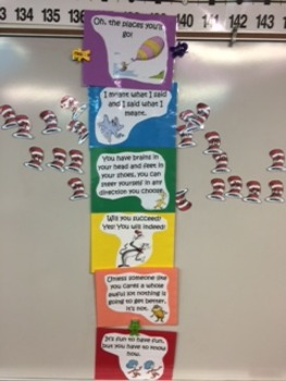 Dr.Seuss Behavior Chart