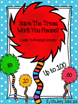 Save The Trees, Won't You Please?:  Seuss Inspired Least To Greatest Activity
