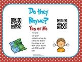 Dr.Seuss color Rhyming QR code game
