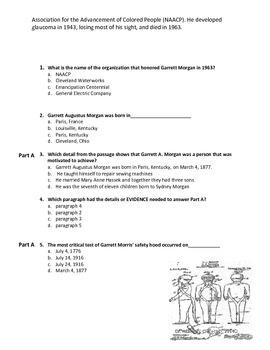 Dr_Lockett Black_History_Rigorous_PARCC-LIKE_READING Comprehension