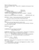 Dracula Bilingual short play in Spanish and English