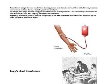 Dracula-Blood Transfusions?