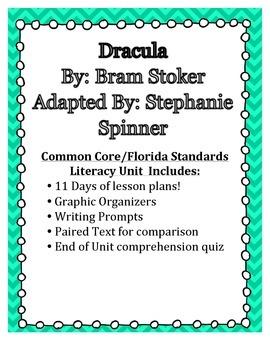 Dracula Novel Study