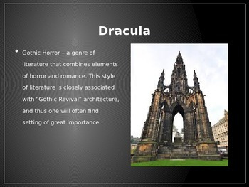 Dracula Power point - Frontload/Introduction