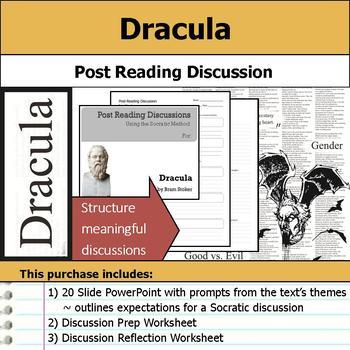 Dracula - Socratic Method - Post Reading Discussions
