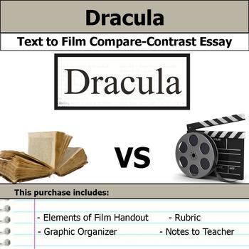Dracula - Text to Film Essay Bundle