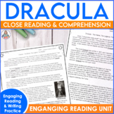 Reading Comprehension Passage and Questions: Dracula