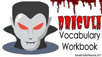 Dracula Vocabulary Workbook Activity