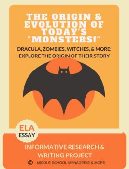 Dracula: ZERO PREP Novel Based Thematic Unit
