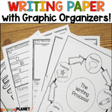 Writing Paper with Built in Graphic Organizers Writer's Wo