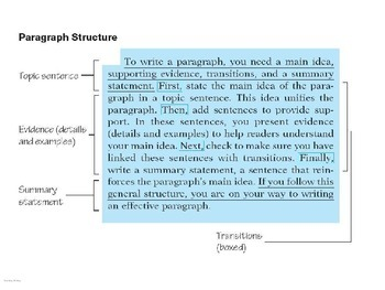 Drafting a Paragraph