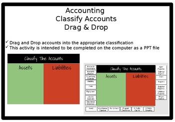 Drag & Drop Account Identification