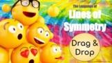 Drag & Drop Lines of Symmetry -Math Language for ELs