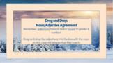 Drag & Drop: Spanish Noun/Adjective Agreement & Definite/Indefinite Articles