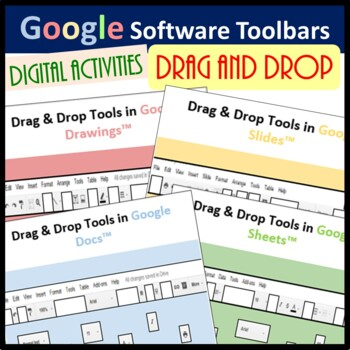 Drag & Drop Tools Activity for Google Docs™, Sheets™, Slides™ & Drawings™