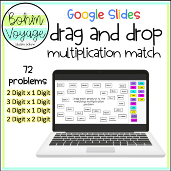 "Drag ""On"" Multiplication Match"