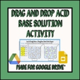 Drag and Drop Acid Base Solution Activity (Distance Learning)