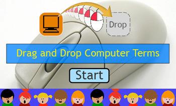 Drag and Drop Computer Terms