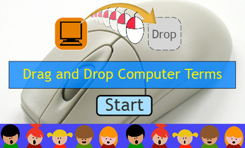Drag and Drop Computer Terms