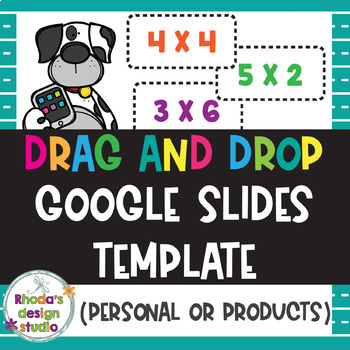 Drag and Drop Slides Template for Classroom Resources