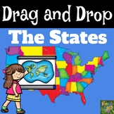 Drag and Drop the States-Boom Cards